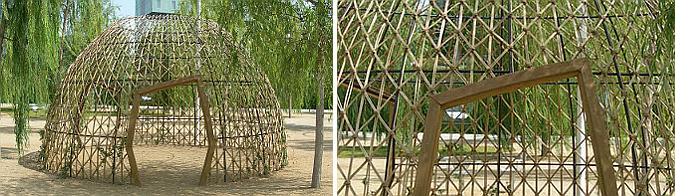 cúpula vegetal - centre de poblenou park