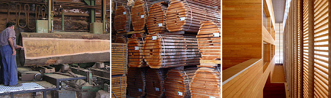 productos de madera para la arquitectura - manual técnico
