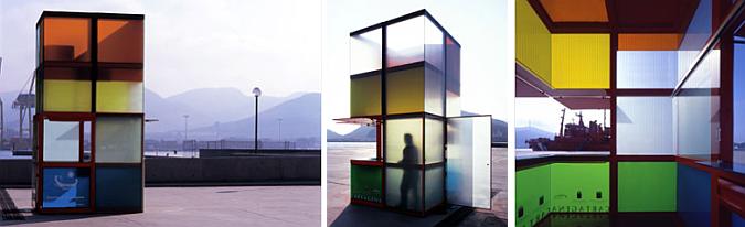prisma de luz y color -