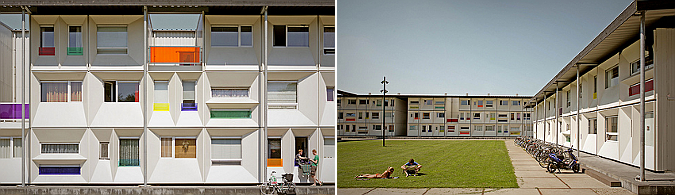 variantes de forma y color - temporary student housing