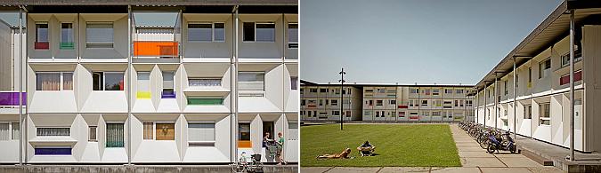variantes de forma y color - temporary student housing