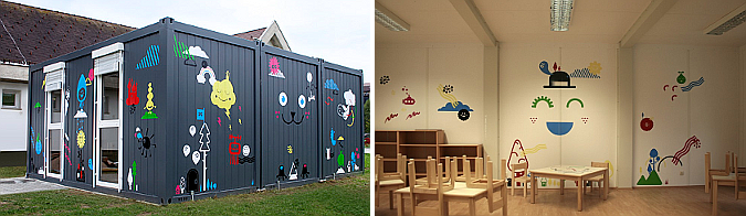 ravne temporary kindergarten 01