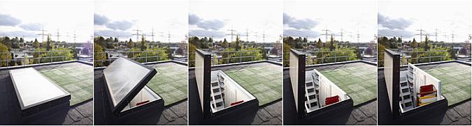 una habitación con vistas - room with a view (rooftop mobile)