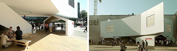 satélite cultural - schaulager satellite, temporary pavilion