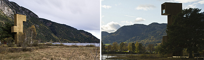 puntos de vista - seljord lookout points