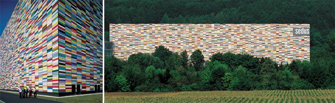 Arquitectura y color - concepto para una nueva fachada