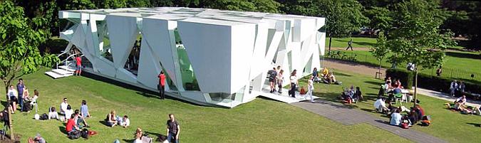 juego de apariencias - serpentine gallery pavilion 2002