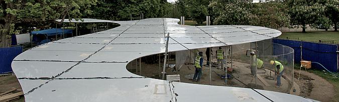 en construcción - serpentine gallery pavilion 2009