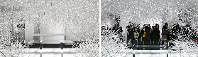 atmósfera cristalina - snowflake, shop installation