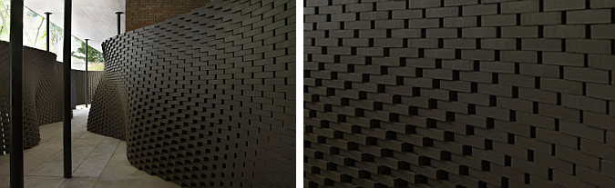ondulaciones de cerámica - structural oscillations, installation