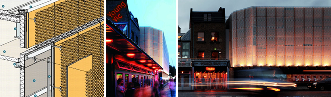 Arquitectura y deployé - Young Vic Theatre