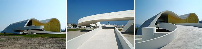 curvas blancas - teatro popular de Niterói
