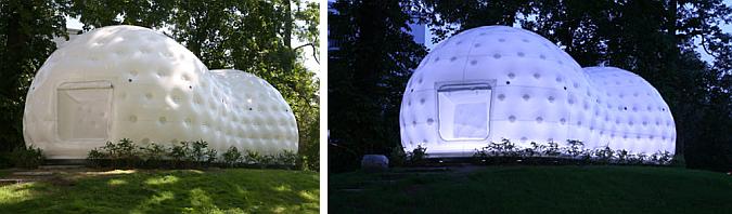de tela, de aire y de luz - teehaus in Frankfurt