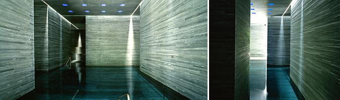 la presencia material de la piedra - Vals, thermal baths