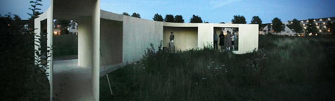 una casa en el camino - trail house, temporary pavilion