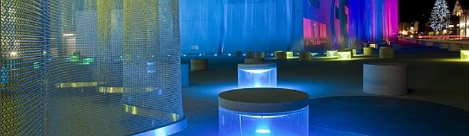transparencias de metal - veil swarovski factory