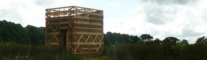 la presencia del tiempo - watchhouse brinta, installation