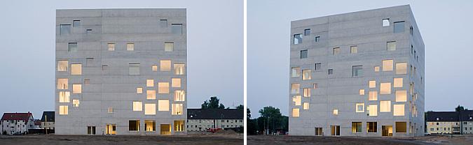 recortes de hormigón - Zollverein school of management and design